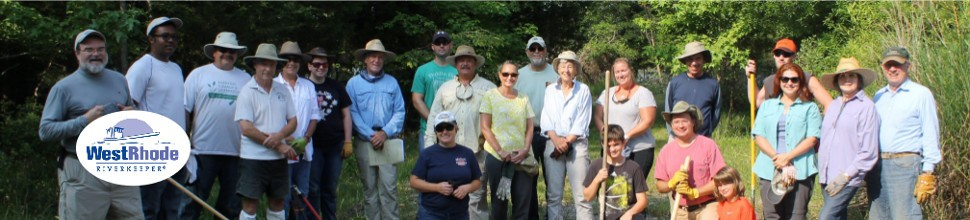 Volunteer with the West & Rhode RiverkeeperHave fun and do good work for our rivers.